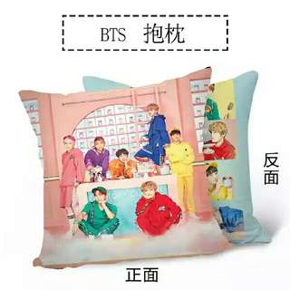 "BTS ""HAPPY EVER AFTER"" PILLOW"
