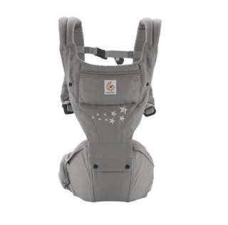 [95% new] Ergobaby Baby Carrier Hip Seat Galaxy Grey 嬰兒背帶 腰櫈抱嬰 BB揹帶孭帶 腰凳揹帶 坐墊式揹帶