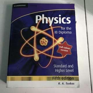 IB HL/SL Physics Textbook K.A. Tsokos