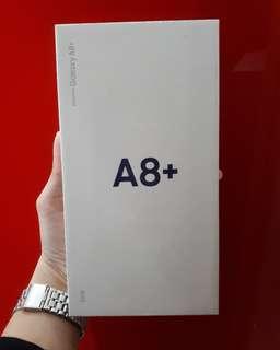 Samsung Galaxy A8+ murah banget kredit bunga 0% bonus pulsa