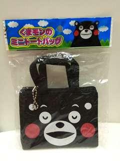 (包郵) Kumamon 熊本熊散子包 Coins Bag