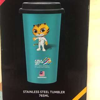 Sea Games Stainless steel Tumbler