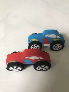 Car Erasers