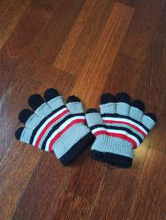 Boy winter gloves