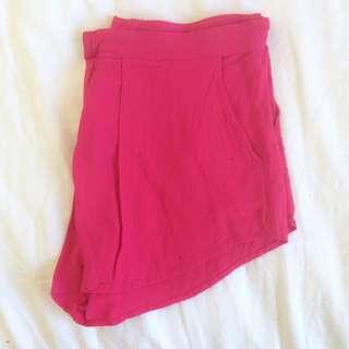 Pink Shorts - Size 10