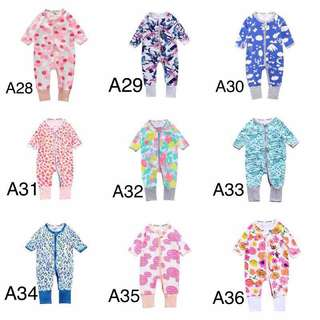 Bonds Inspired Sleepsuit A28-A36