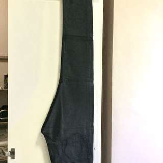 All Saints Mens Dark grey/Black jeans