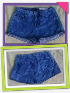 Bershka HW Shorts