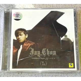CD Jay Chou Zhou Jie Lun November Chopin 周杰倫十一月的蕭邦 PRC Press