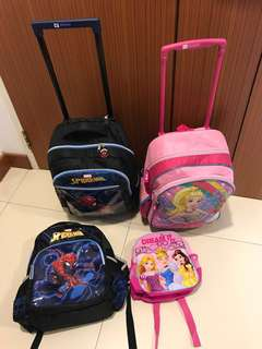 Kids Backpack 3 For 1 $60 Only
