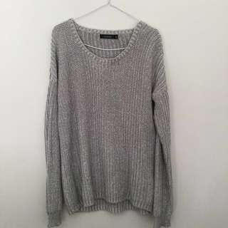 Glassons Oversized Grey Jumper