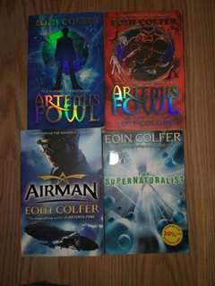 Eoin Colfer - Artemis Fowl / Airman / Supernaturalist