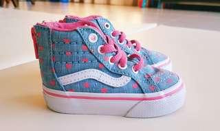 Vans baby sneakers (size EU19)