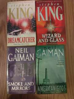 Neil Gaiman / Stephen King
