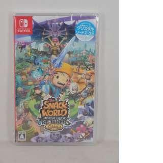 (全新送DLC) NS Switch The Snack World Treasure Gold (日版)