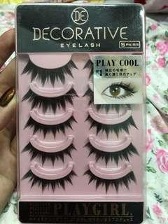 Decorative eyelash 5 pairs
