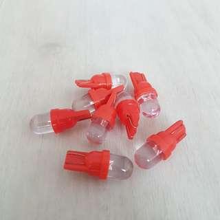 T10 Red LED Bulb