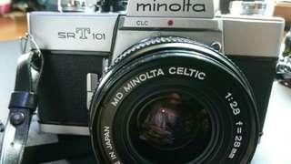Minolta SRT 101 value bundle with 3 lenses