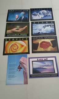 Inspirational Posters (laminated)