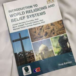 REX Books (4)- Introduction to world religions and belief system, Understanding culture,society and politics, Introduction to the philosophy of human person, General Mathematics