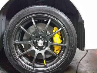D1 Spec 4 pot big brake kit (Used)