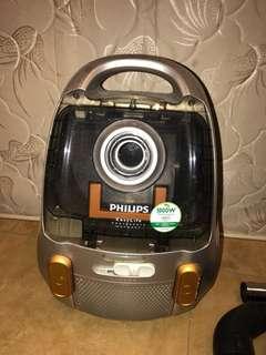 philips easylife 1800w吸塵機
