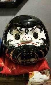 Daruma 27cm new black color special order!