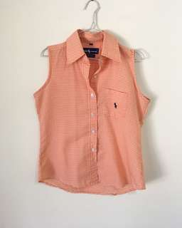 Ralph Lauren Button Up Top