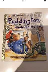 Paddington Minds The House - Little Golden Book