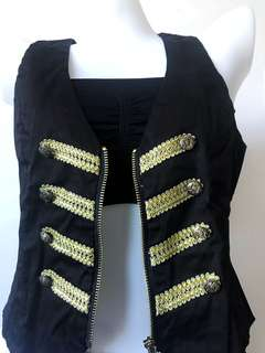 Little Drummer Boy inspired Rocker Vest