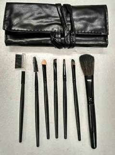7pcs. brush set w/ organizer