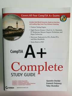 CompTIA A+ Complete Study Guide (CD included)