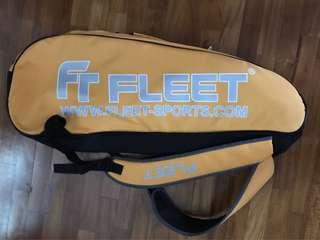 Fleet badminton bag