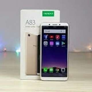 new oppo A83 cash dan credit