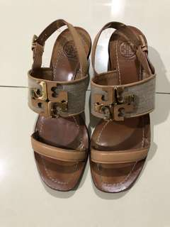 Tory burch wedges sandal