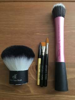 Make up brush x5