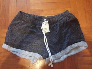 H&M 短綿褲