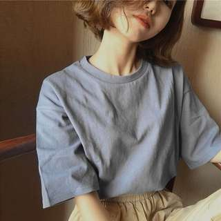Coloured Loose Tee (PREORDER)