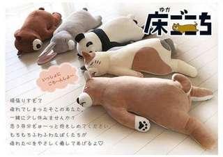 🚚 【花蓮ZOO TOYS 玩具】  高雄玩具店 (預購)日本代購 生活雜貨  陪睡覺動物抱枕