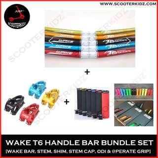 WAKE T6 Handle Bar Bundle Set