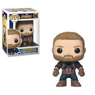Avengers: Infinity War Captain America Funko Pop!