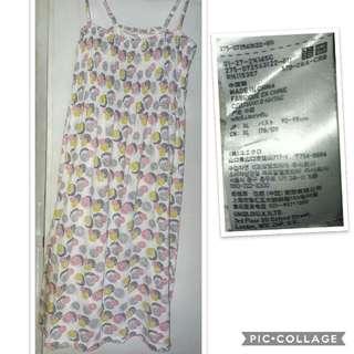 Uniqlo spaghetti strap dress