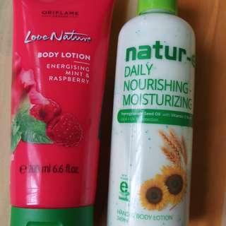 Handbody Love Nature & Handbody Natur-E