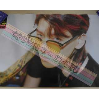 [CRAZY DEAL 40% OFF FROM ORIGINAL PRICE][READY STOCK]EXO CHANYEOL KOREA OFFICIAL POSTER!NEW! OFFICIAL ORIGINAL FROM KOREA  (PRICE NOT INCLUDE POSTAGE) SHIP USING TUBE