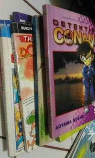 Komik Detektif Conan, sersan keroro, the devil Dong Dong