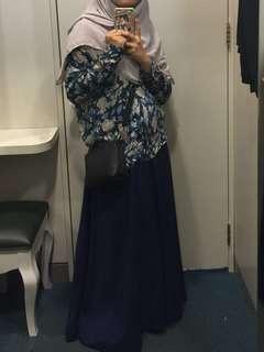 Skirt labuh muslimah