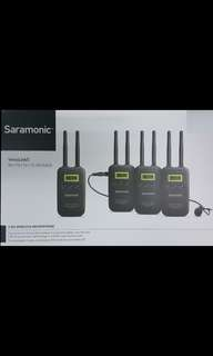 Saramonic VmicLink5 (3TX+RX) 5.8G Wireless Microphone Package