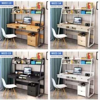 Study desk/computer table/study table with shelf