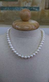 Real Pearl necklace with pearl lock