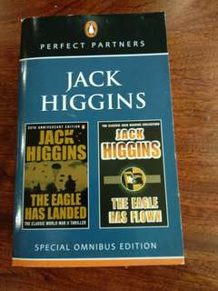 The eagle has landed and the eagle has flown by jack higgins